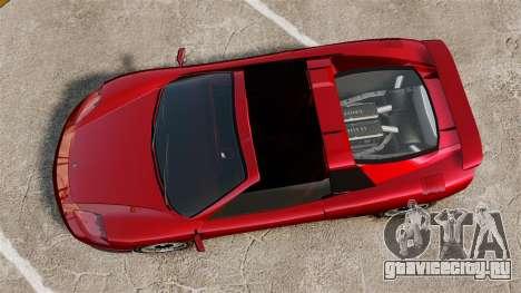 Новый Turismo для GTA 4 вид сзади слева