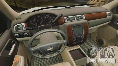 Chevrolet Tahoe Slicktop [ELS] v2 для GTA 4 вид сзади