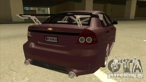 Chevrolet Aveo LT Tuning для GTA San Andreas