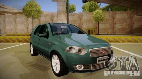 FIAT Palio ELX 2010 для GTA San Andreas вид слева