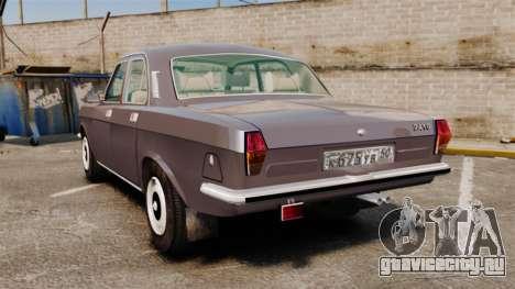 ГАЗ-2410 Волга v2 для GTA 4 вид сзади слева