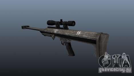 Снайперская винтовка Barrett M99 для GTA 4 второй скриншот