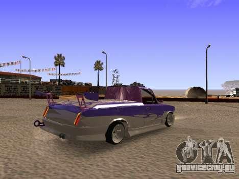 Ваз 2102 Fun DRFT для GTA San Andreas вид сзади слева