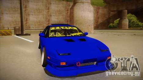 NISSAN 180SX NAKAGAWA для GTA San Andreas вид слева
