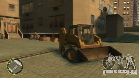 Погрузчик из BF3 для GTA 4 вид сзади