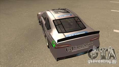 Ford Fusion NASCAR No. 32 C&J Energy services для GTA San Andreas вид сзади