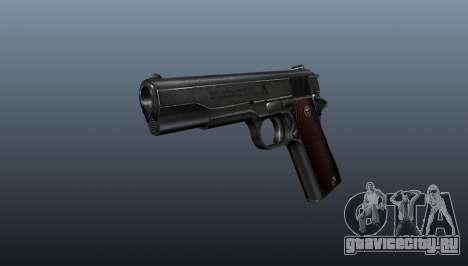 Пистолет M1911 v4 для GTA 4