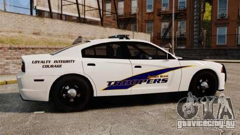 Dodge Charger 2013 AST [ELS] для GTA 4 вид слева