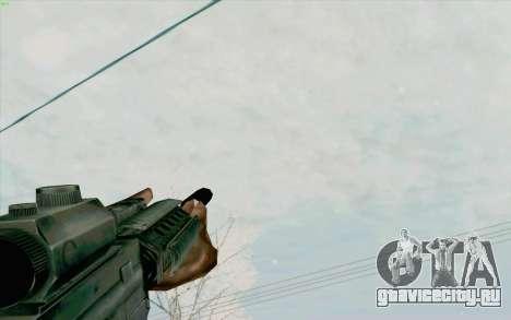 М4А1 для GTA San Andreas пятый скриншот