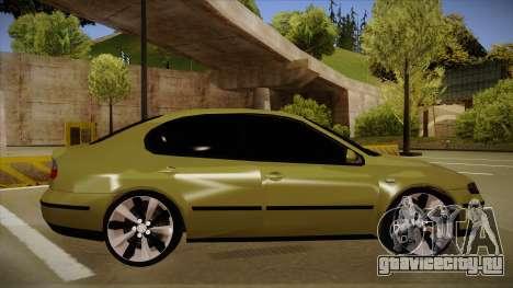 Seat Toledo German Style для GTA San Andreas вид сзади слева