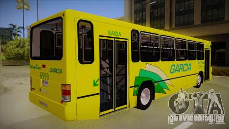 Busscar Urbanus SS Volvo B10 M garcia для GTA San Andreas вид справа