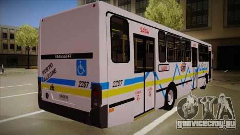Busscar Urbanuss Ecoss MB OF 1722 M Porto Alegre для GTA San Andreas вид справа