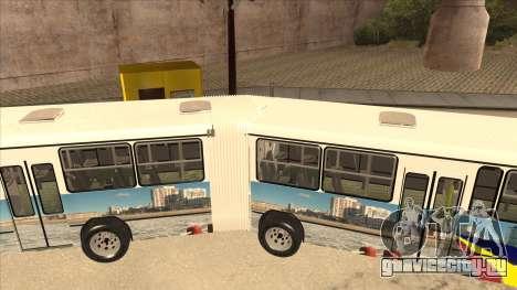 Marcopolo Torino G6 Articulado El Rapido Del Sud для GTA San Andreas вид справа