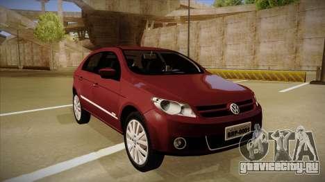 VW Gol Power 1.6 2009 для GTA San Andreas вид слева