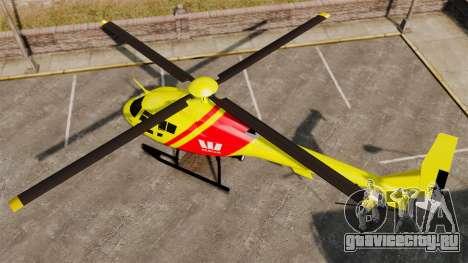Westpac Rescue Australia для GTA 4 вид сзади слева
