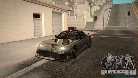 Mazda RX-7 STANCENATION для GTA San Andreas вид слева