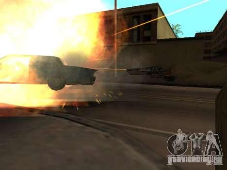 WeaponStyles для GTA San Andreas третий скриншот