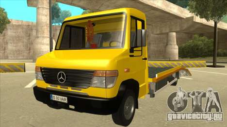 Mercedes-Benz Vario Towtruck для GTA San Andreas