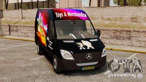 Mercedes-Benz Sprinter Tom and Jerry для GTA 4