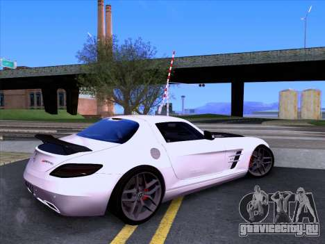 Mercedes-Benz SLS AMG GT 2014 Final Edition для GTA San Andreas вид слева