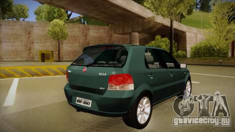 FIAT Palio ELX 2010 для GTA San Andreas вид справа
