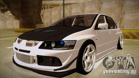 Mitsubishi EVO VIII для GTA San Andreas