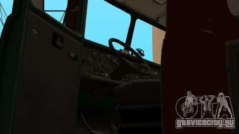 Краз Автошкола V.2.0 для GTA San Andreas вид снизу