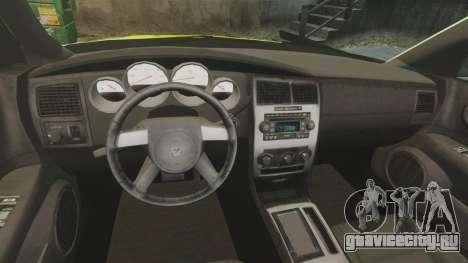 Dodge Magnum West Coast Customs для GTA 4 вид сзади
