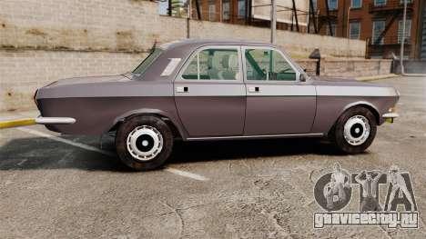 ГАЗ-2410 Волга v2 для GTA 4 вид слева