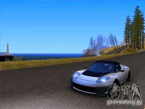 Tesla Roadster Sport 2011 для GTA San Andreas