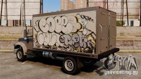 Новые граффити для Yankee для GTA 4 вид сзади слева
