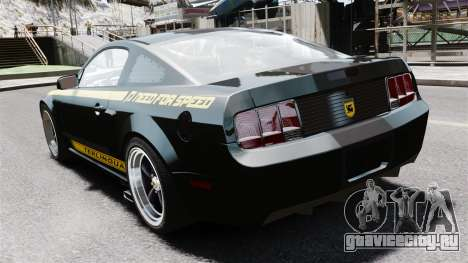 Shelby Terlingua Mustang для GTA 4 вид сзади слева