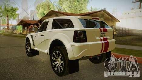 Bowler EXR S 2012 IVF & АПП для GTA San Andreas вид справа