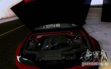 BMW M3 Cabrio для GTA San Andreas салон