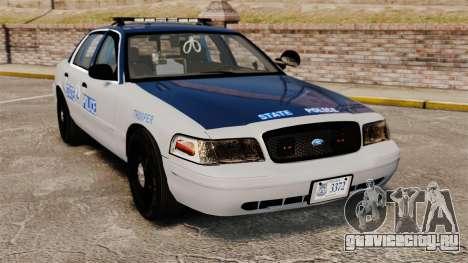 Ford Crown Victoria Virginia State Police [ELS] для GTA 4