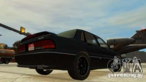Mitsubishi Galant для GTA 4 вид справа