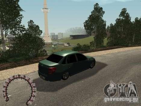 ВАЗ 2190 для GTA San Andreas вид слева