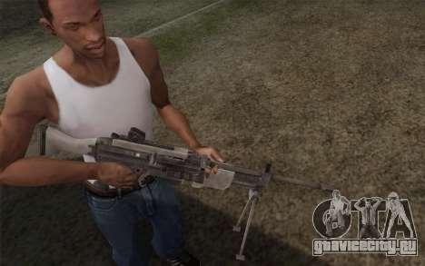 Военный пулемет для GTA San Andreas второй скриншот