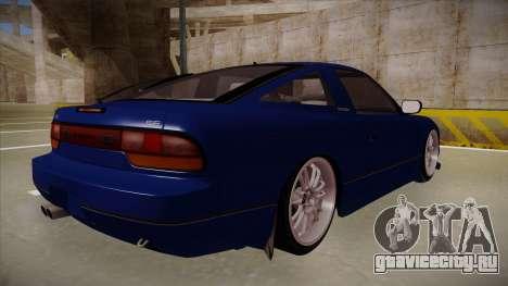 Nissan 240sx JDM style для GTA San Andreas вид справа