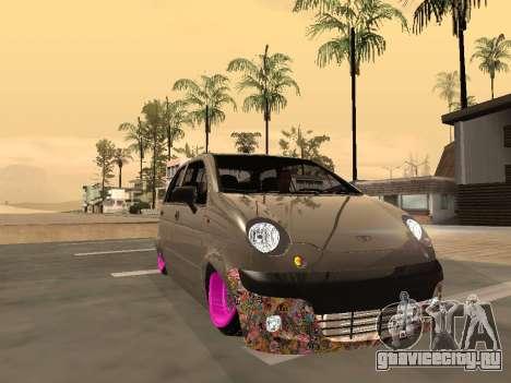 Daewoo Matiz Mexi Flush для GTA San Andreas