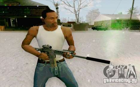 М4А1 для GTA San Andreas четвёртый скриншот