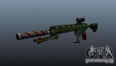 Автоматическая винтовка HK417 v3 для GTA 4