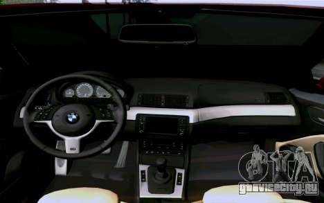 BMW M3 Cabrio для GTA San Andreas вид сбоку