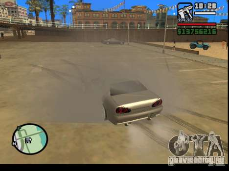 GTA V to SA: Burnout RRMS Edition для GTA San Andreas второй скриншот