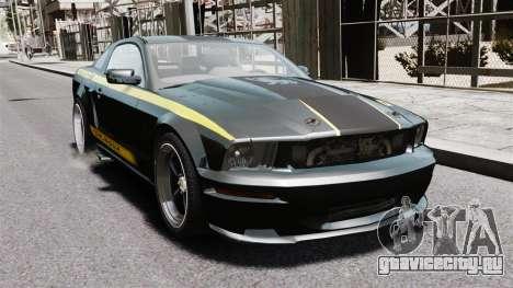 Shelby Terlingua Mustang для GTA 4 вид справа
