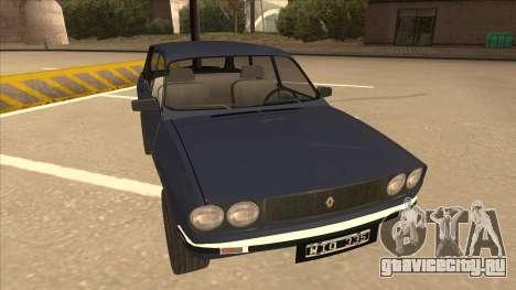 Renault 12 Break для GTA San Andreas вид слева