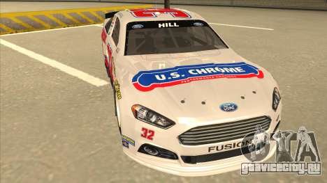 Ford Fusion NASCAR No. 32 U.S. Chrome для GTA San Andreas вид слева