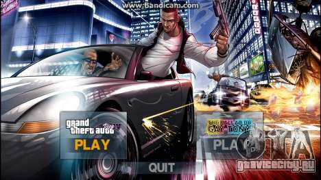 New IntroMusic LoadingScreen Menu Mega Pack v1.0 для GTA 4