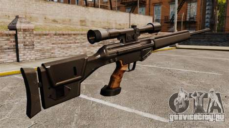 Снайперская винтовка HK PSG10 для GTA 4 второй скриншот