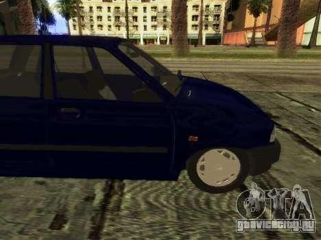 Kia Pride Hatchback для GTA San Andreas вид сзади слева